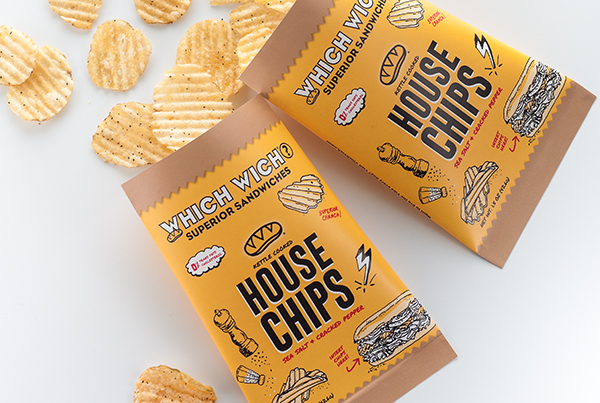 Which Wich rolls out new private label House Chips