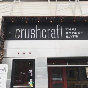 Crushcraft Thai Street Eats
