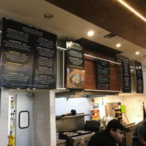 Crisp Menu Boards