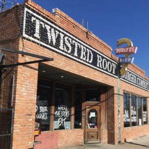 Twisted Root Burger Exterior