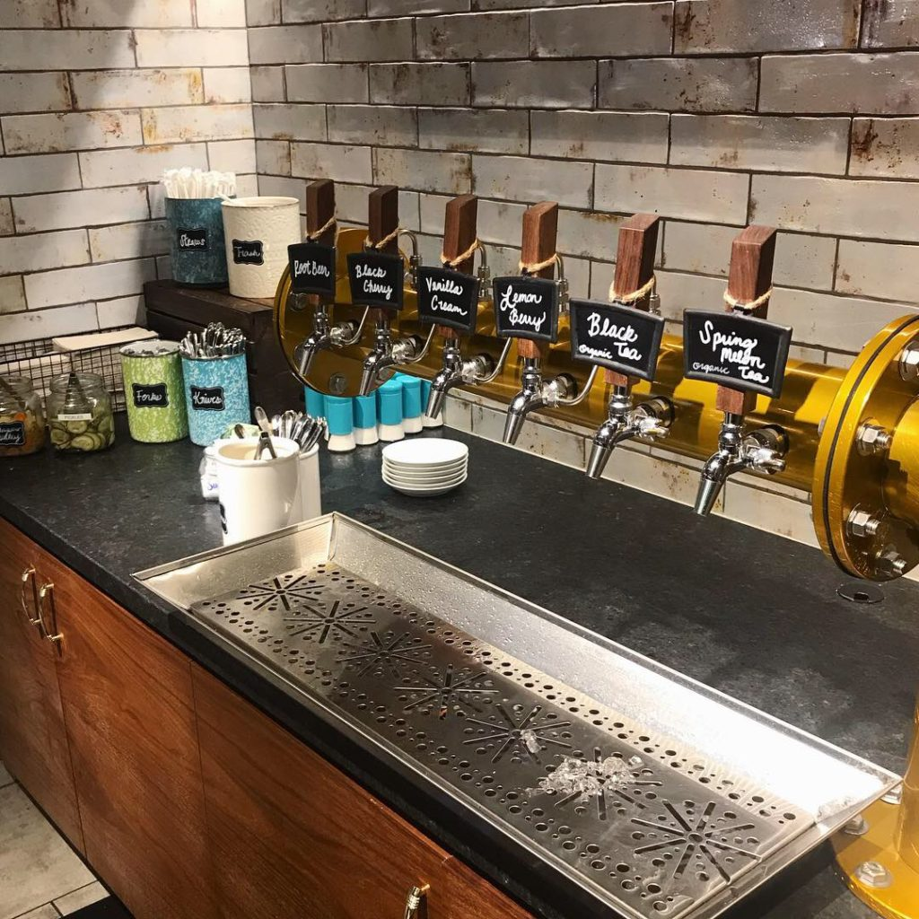 Tea and Soda Tap