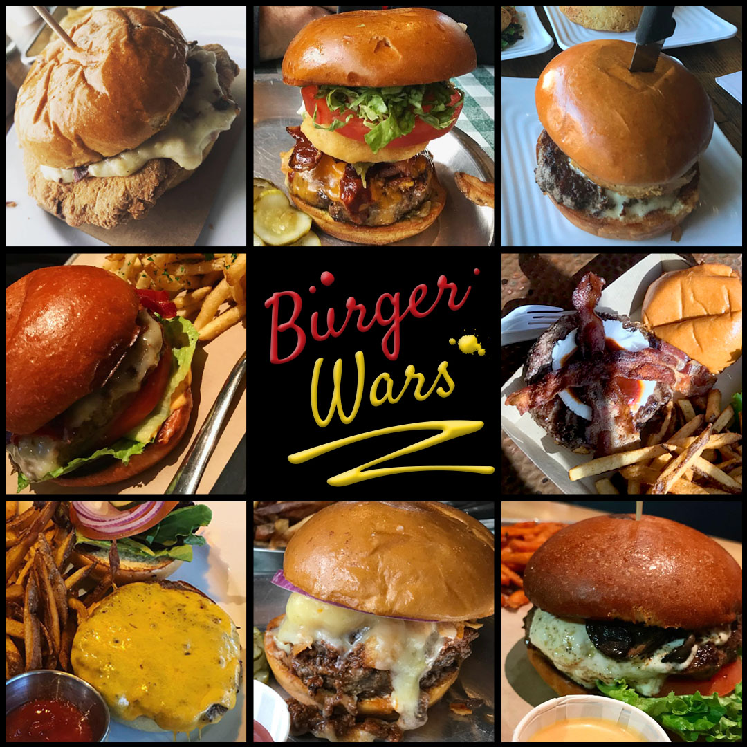 Burger Wars Collage
