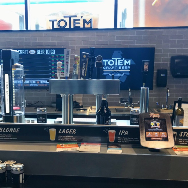 7-Eleven Beer on Tap