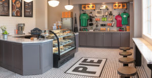 Pie Company Interior
