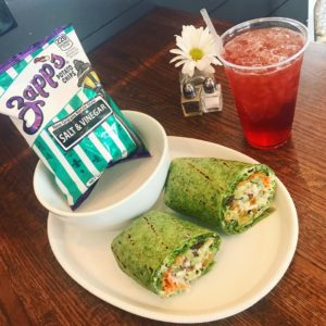 Clubhouse Spinach Wrap