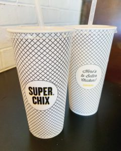 Super Chix Branded Cups