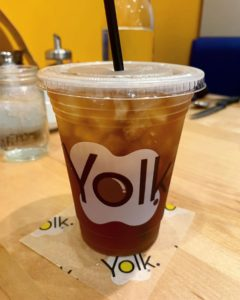 Yolk Branded Takeout Cup