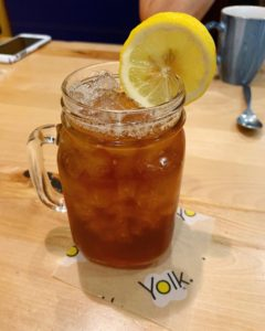 Ice Tea & Yolk Tissue