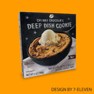 7-Eleven Designed Deep Dish Cookie