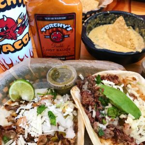 Green Chile Pork & Crossroads Tacos