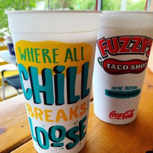 Fuzzy's Branded Cups