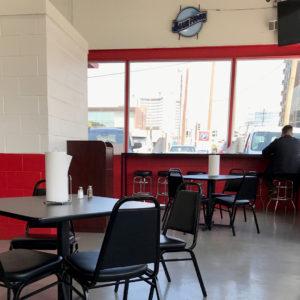 Sky Rocket Burger Interior